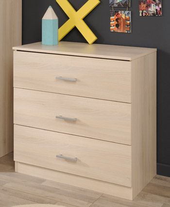 Infinity 3 Drawer Chest