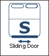 End Sliding Door